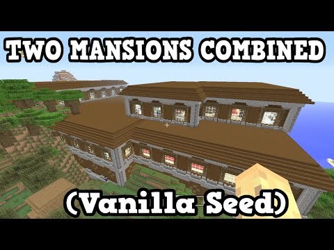 Minecraft PS4 / Switch - 2 MERGED MANSION SEED - ibxtoycat