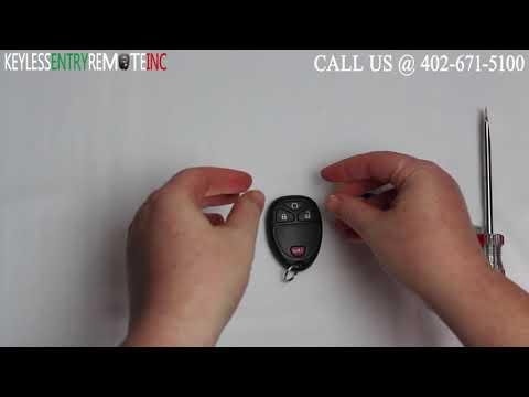 2 For 2007 2008 2009 2010 2011 2012 2013 2014 Chevrolet Silverado Remote Car Key