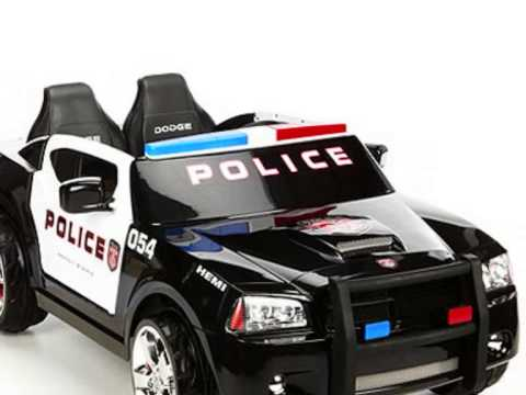 dodge police ride on car toy for kids