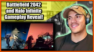 US Marine reacts to Battlefield 2042 and Halo Infinite Gameplay Reveal