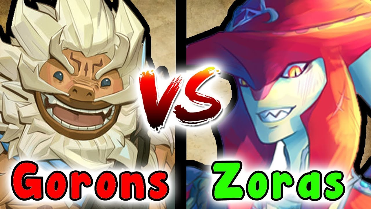 What If The ZORAS And GORONS Ended Up In A BATTLE? (The ...