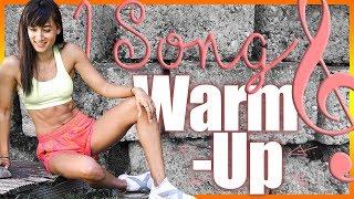 AUFWÄRMÜBUNGEN - 1 Song Warm Up - Aufwärmen vor dem Training - BodyKiss