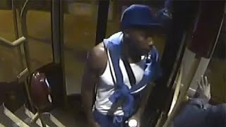 video: NHS Track and Trace worker's head stamped on five times by bus attacker