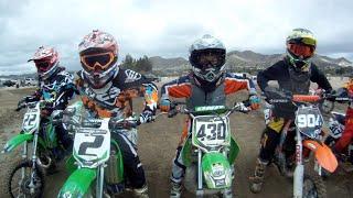 Motocross Kids Rippin On Dirt Bikes (part 8)