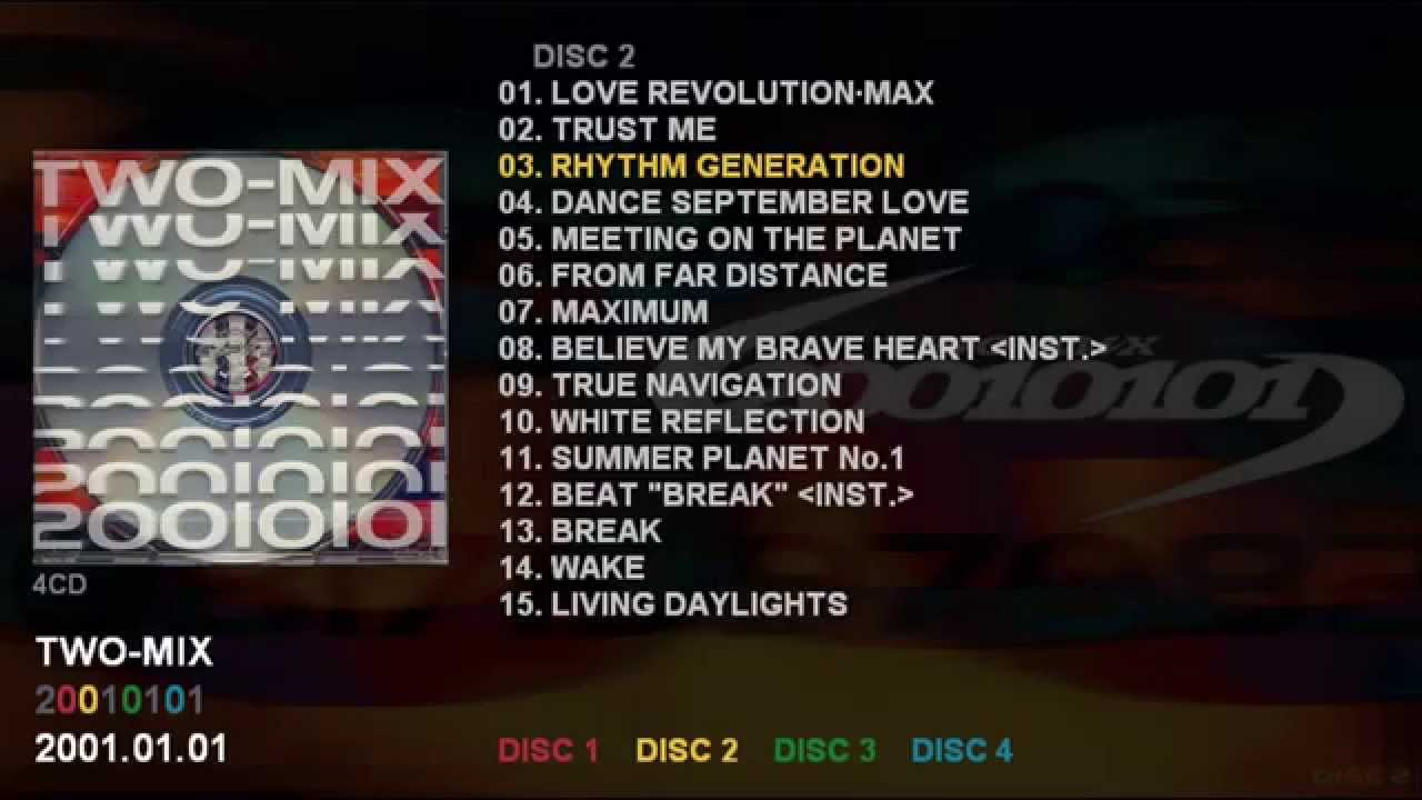 TWO-MIX 「20010101」 (DISC 2) ...