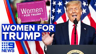 US female demographic vow to vote for Trump   9 News Australia