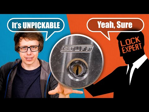 TWO Unpickable (?) Locks for Lock Picking Lawyer!