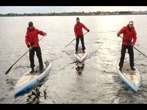 A Journey of Passion: Crossing Lake Huron
