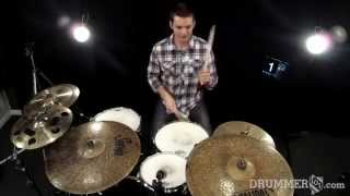 Kelly Clarkson - Behind these hazel eyes: Drummer101.com drum cover