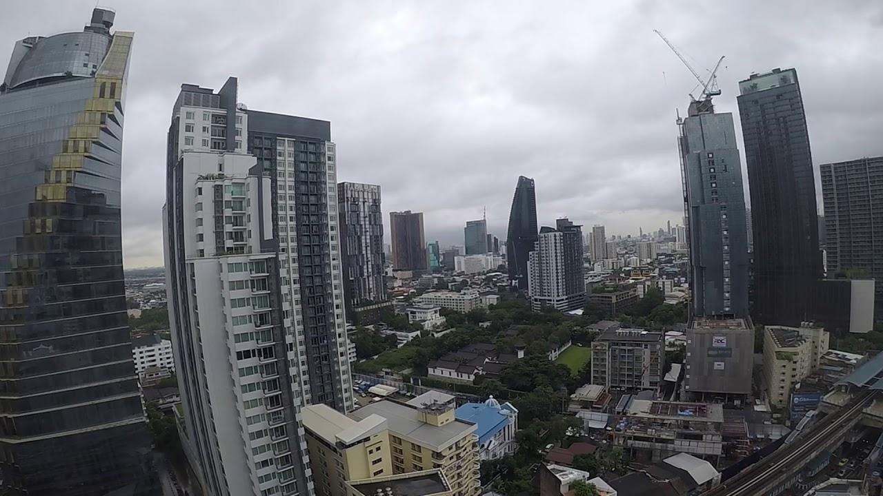 Look out of the window - Bangkok Marriott Hotel Sukhumvit