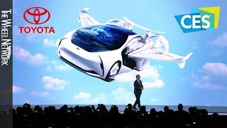 Toyota City of the Future announced at CES 2020 – Press Co...