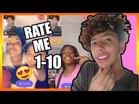 TELLING RANDOM GIRLS TO RATE ME 1-10 ! ON MONKEY APP 🐵