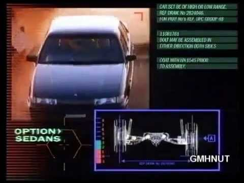 Holden VP Commodore Series I TV Commercial