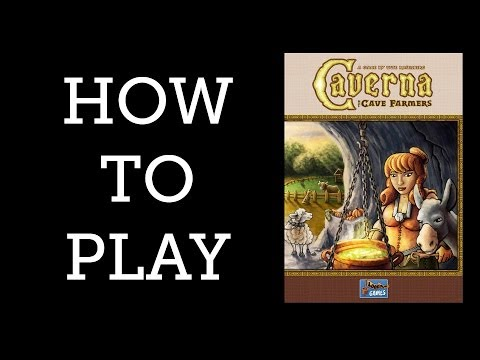 How to Play - Caverna - The Games Capital