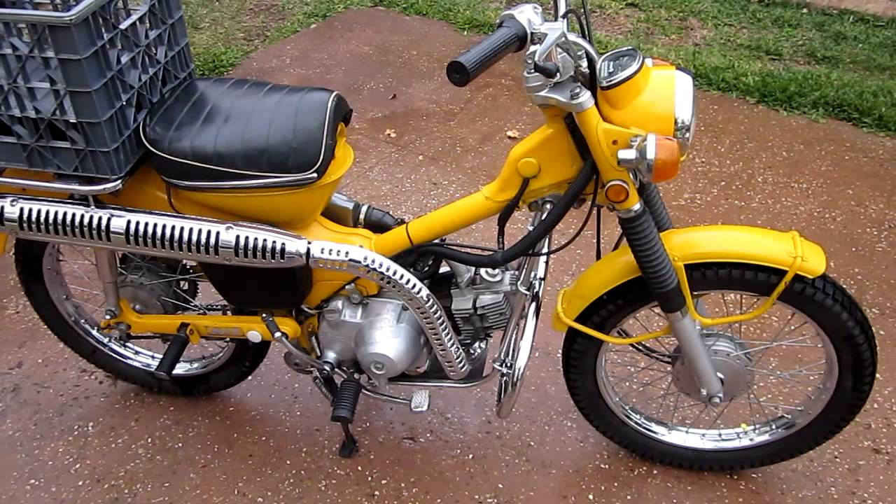 1970 Honda Ct 90 Trail 90 Youtube