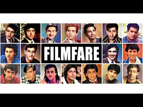 All Filmfare NOMINEES AND WINNERS | Best Actor Awards (1954 - 2020)