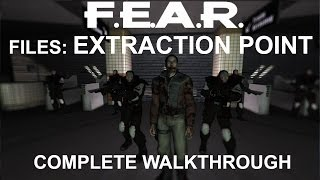 F.E.A.R. Files: Extraction point - Complete walkthrough - 1080p 60fps - No commentary