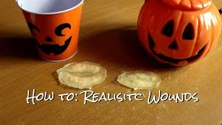 Halloween Tutorial: How to Make Latex Wounds Thumbnail