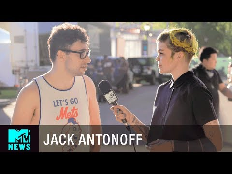 Jack Antonoff (Bleachers) on Social Media & 'Suburban Feelings' | Governors Ball | MTV News