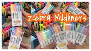 ZEBRA MILDLINERS    Packs, cores, ponta, onde comprar, valores e +
