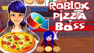 Roblox Oyunları : Pizza Patronu Olduk 🍕 New Work at a Pizza Place 🍕 Rolblox Simulator 🍕