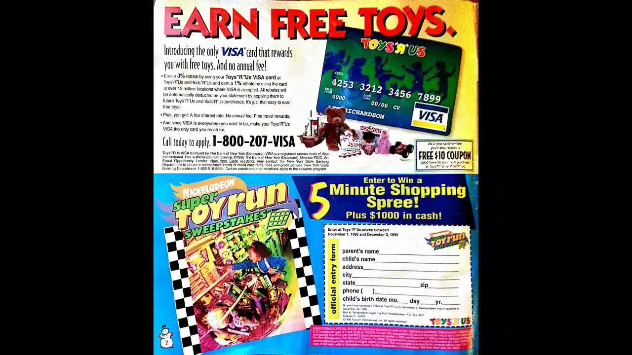 a nostalgic christmas 1995 toys r us catalog youtube