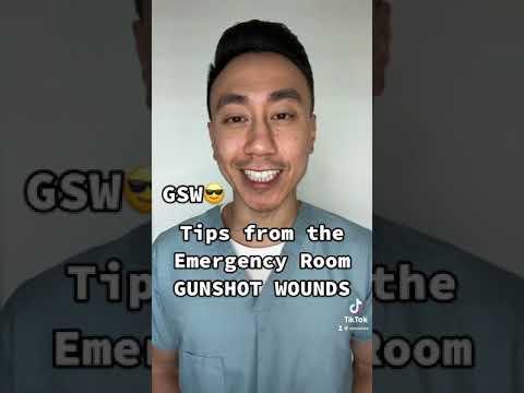 Tips from the ER: Gunshot Wounds #shorts MuFKR.com