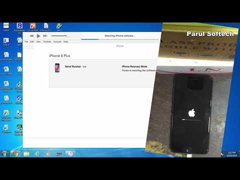 Iphone 8 Plus Disabled Restore With Itunes