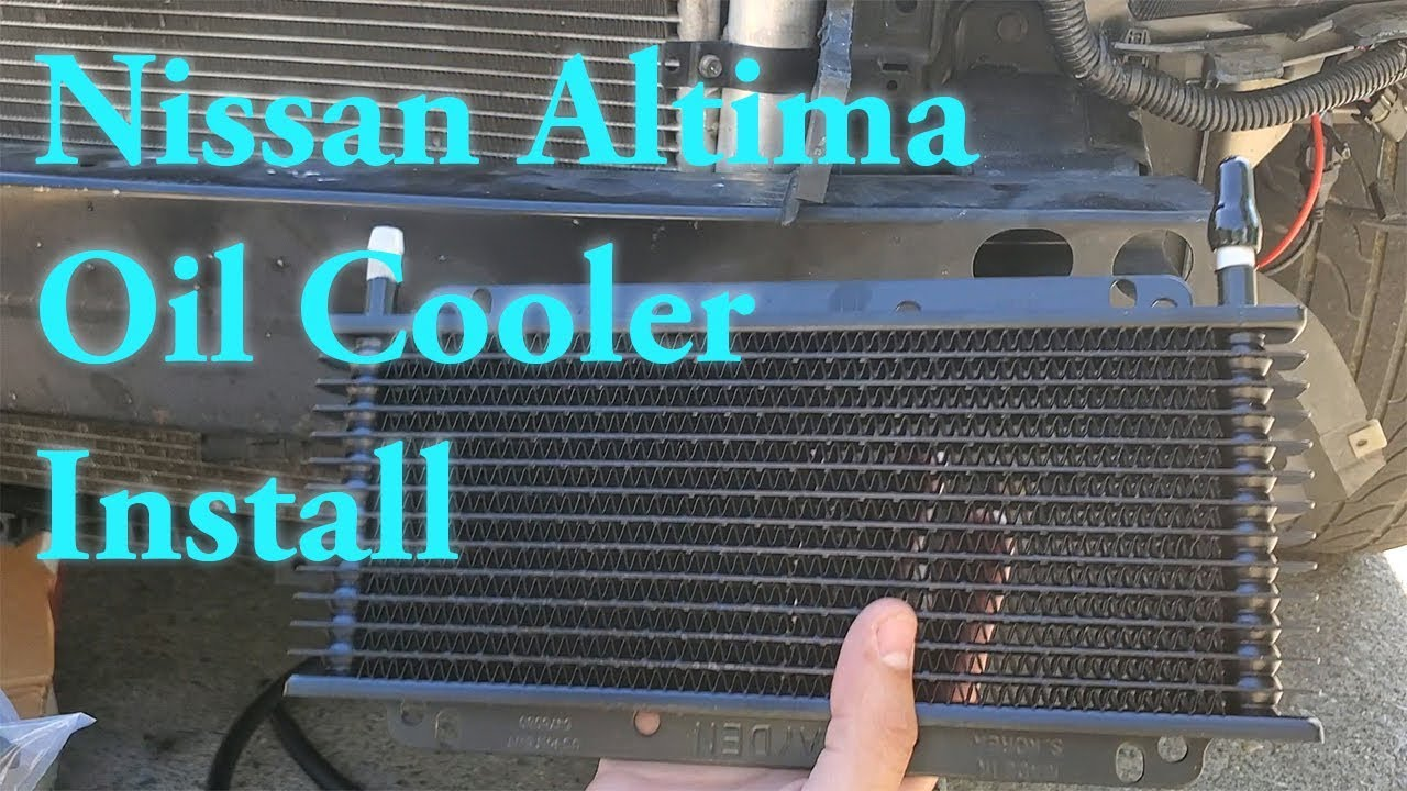 [Tutorial] Install Transmission Oil Cooler Nissan Altima ...