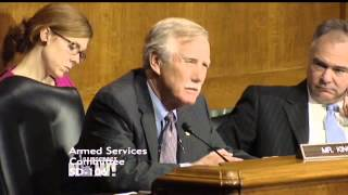 Sen. Angus King Accuses Obama Admin of Rewriting Constitution by Waging Endless War