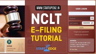 NCLT E-FILING TUTORIAL | NCLT E-FILINBG GUIDE | NCLT E-FILING STEP BY STEOP GUIDE | NCLT ONLINE FILE