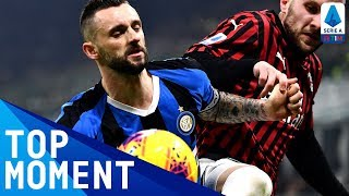 Brozovic Hammers Home a Volley! | Inter 4-2 Milan | Top Moment | Serie A TIM