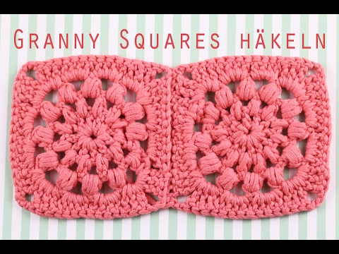 Granny Squares Häkeln Anleitung Talude Youtube