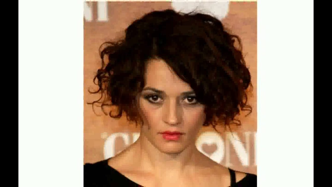 Short Hairstyles For Older Women With Curly Hair