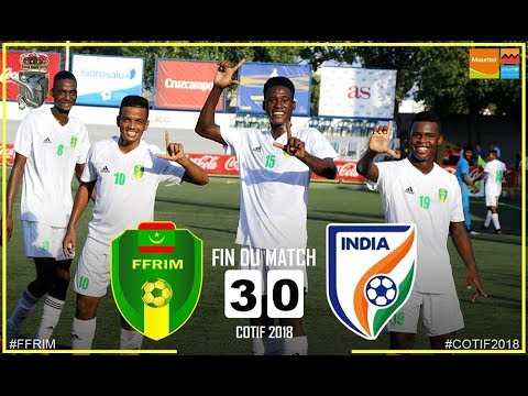 Mauritanie 3-0 Inde - résumé - COTIF 2018