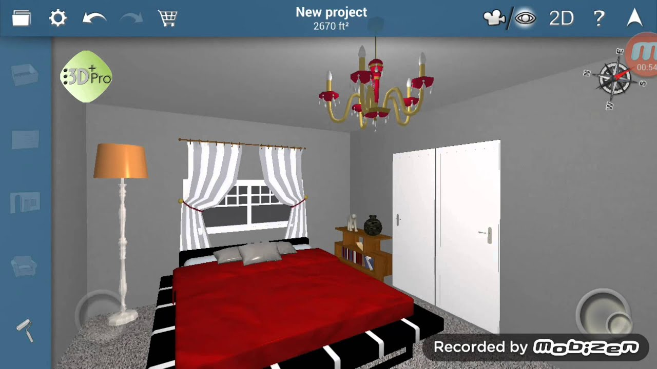 3d house design created with android app youtube - Home design software app ...