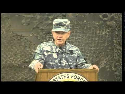 END OF IRAQ WAR:  USF-I Operation New Dawn End of Mission Ceremony - Baghdad, Iraq