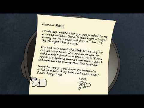 Cease and Desist - Gideon Letters - Gravity Falls - Disney XD Official