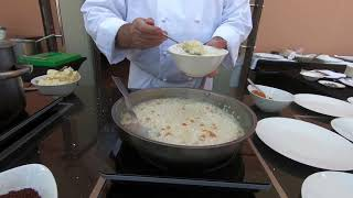 COOKING CLASS WITH MICHELIN-STARRED CHEF ANGELO SABATELLI