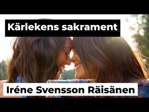 KÄRLEKENS SAKRAMENT diktvideo av poeten Iréne Svensson Räisänen