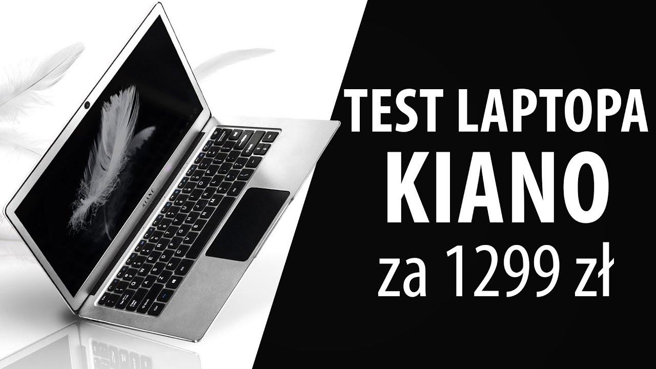 Kiano Elegance 13.3 – Stylowy laptop za 1299zł? Czy warto?