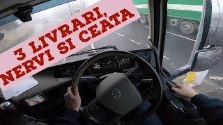 #truckereala255 - TREI LIVRARI, NERVI SI CEATA