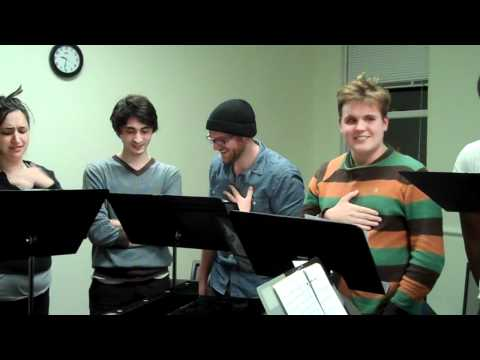The Escape of Jonah - BU CFA Concert Hall March 1 2011 -- early rehearsal clip