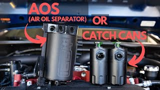 Air Oil Separator VS Catch Can Explained. Is One Better?