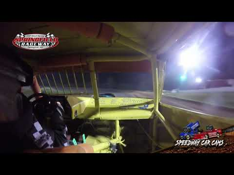 Winner #15 Richard Harrington - Pure Stock - Springfield Raceway 8-17-19 - In Car Camera