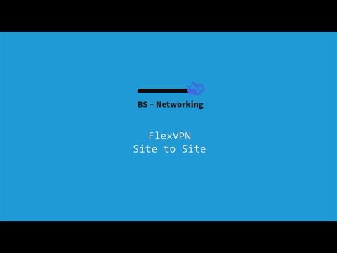 FlexVPN Site to Site - IKEv2