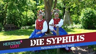 Die Syphilis (ist böse und gemein) - Musikvideo von und mit Marischka & Julischka (aus Ungarn)