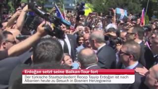 Besuch in Bosnien-Herzegowina: Erdoğan setzt Balkan-Tour fort