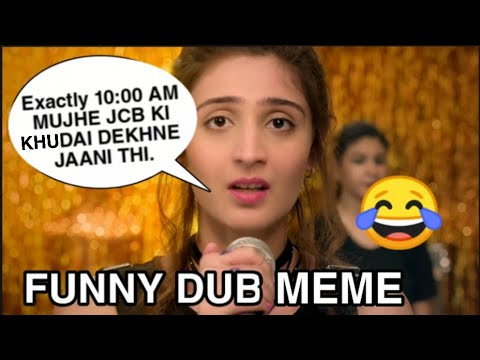 JCB KI KHUDAI | Vaste Song | Funny Dubbing 😂 | Meme #JCBKiKhudai JCB Trending Dhvani Bhanushali