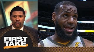 Jalen Rose on LeBron James: He's actually gotten better at basketball | First Take | ESPN thumbnail